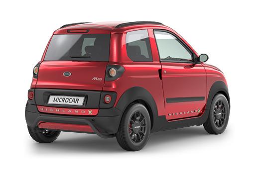microcar mgo highland x progress tu coche sin carnet. Black Bedroom Furniture Sets. Home Design Ideas